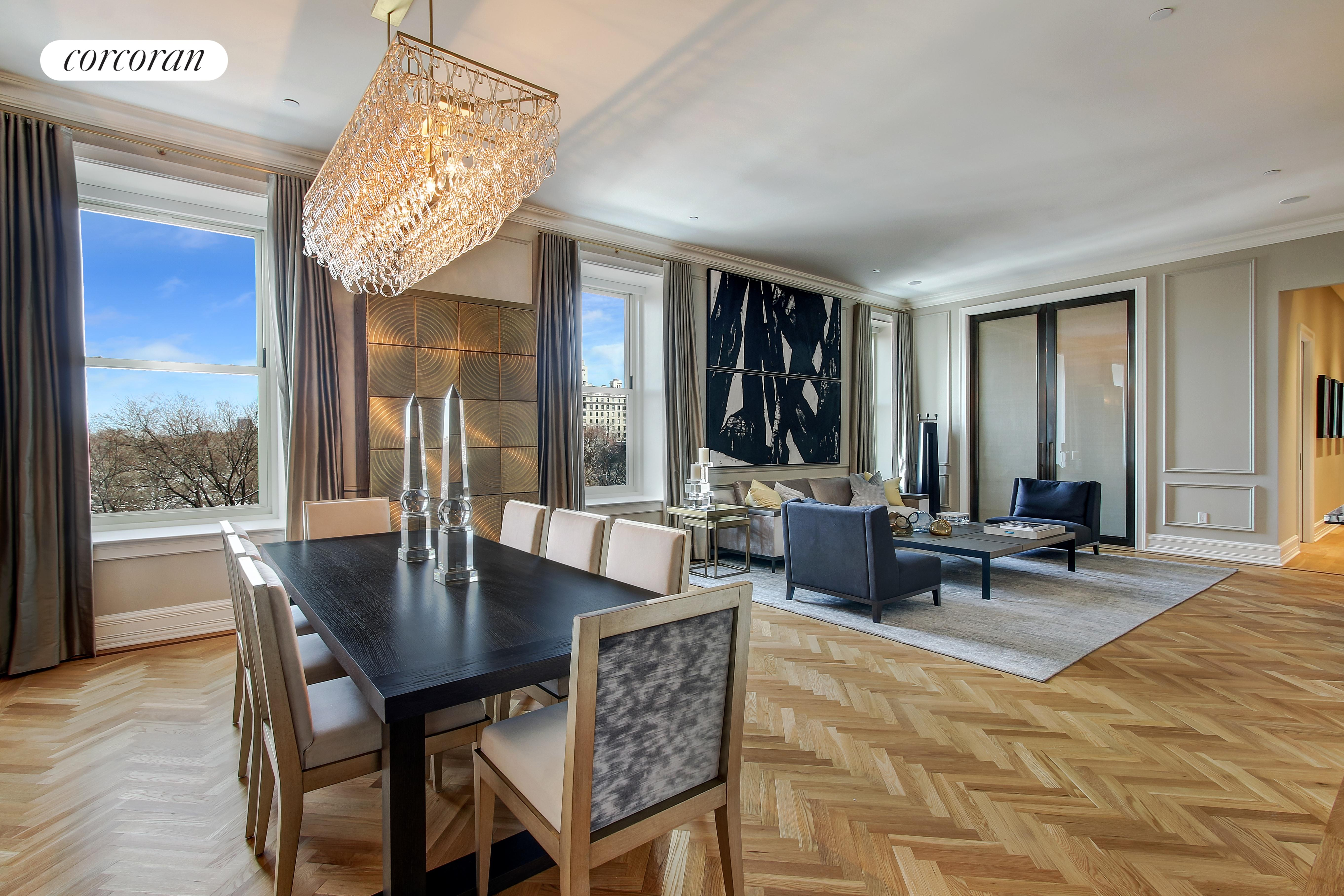 Condominium for Sale at The Plaza Residences, 1 Central Park South 601/602/603 1 Central Park South New York, New York 10019 United States