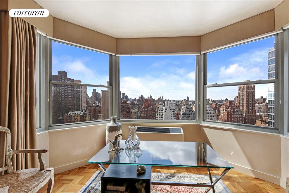 New York City Real Estate | View 300 East 74th Street, #26D | Gorgeous Views from Bay Window