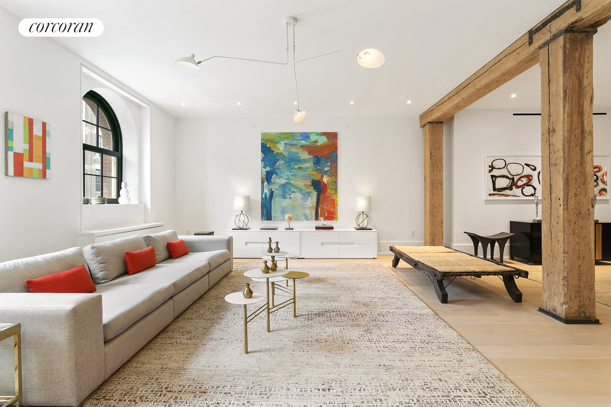 443 Greenwich Street, 5G, Living Room