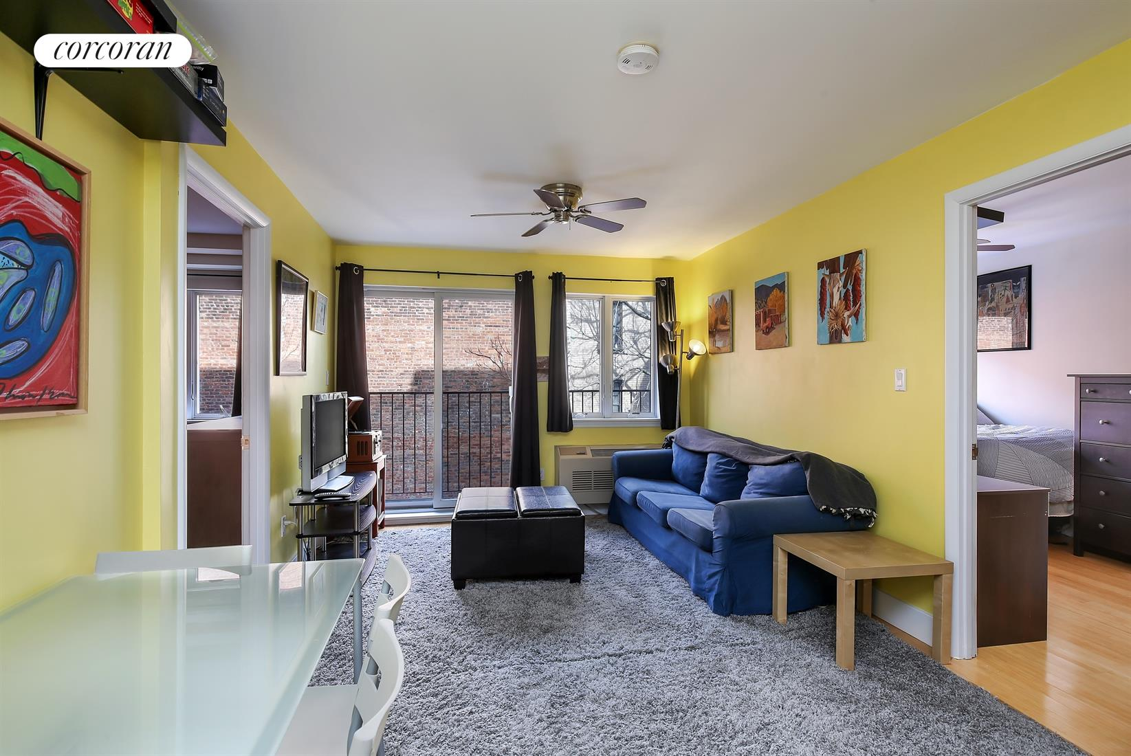 1735 Caton Avenue, 4C, Living Room and Dining Area
