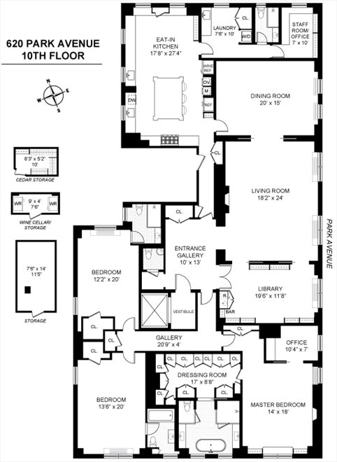 620 Park Avenue 10 Fl Manhattan Ny 10065 Property For Sale
