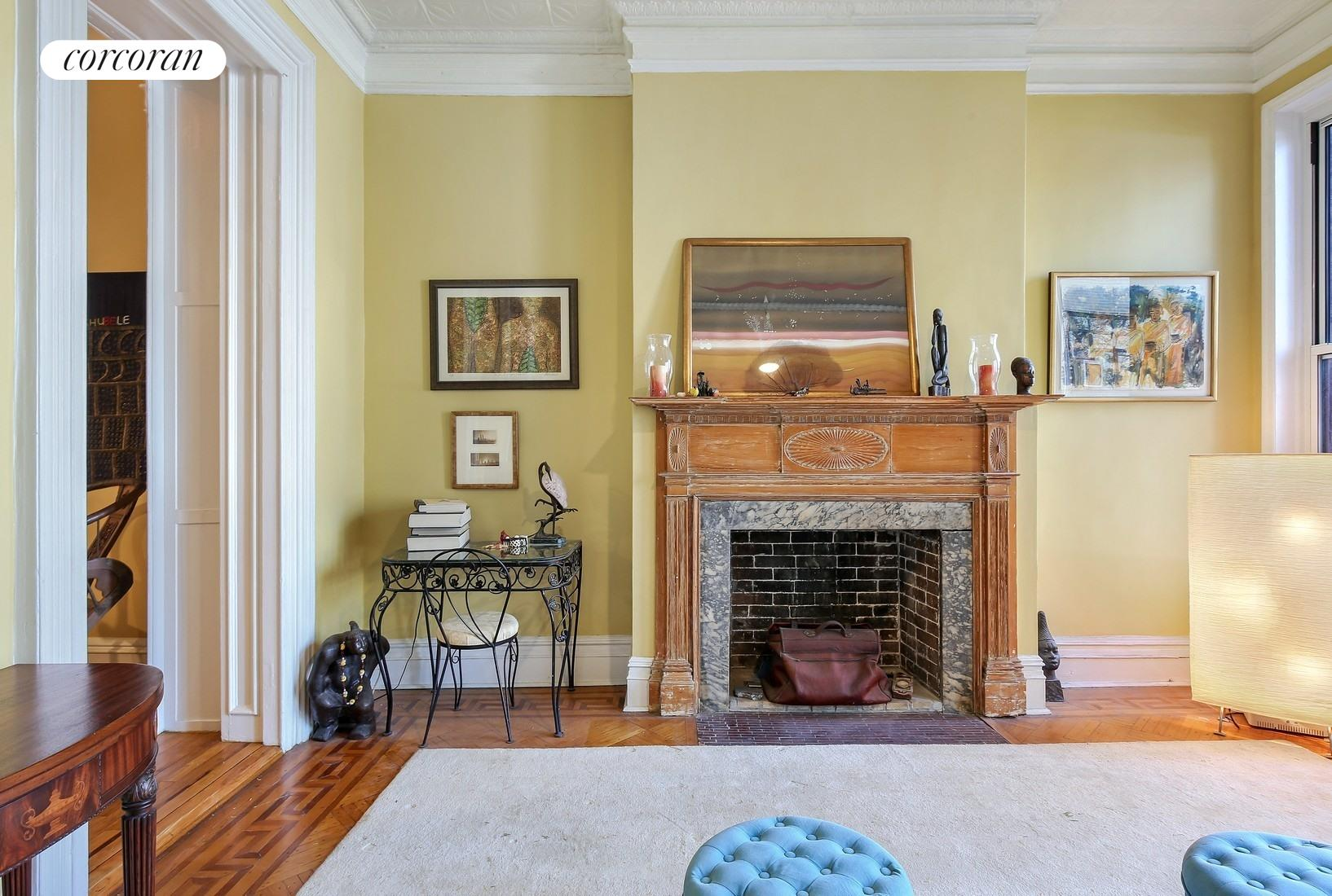 162 Columbia Heights, 2, Living Room