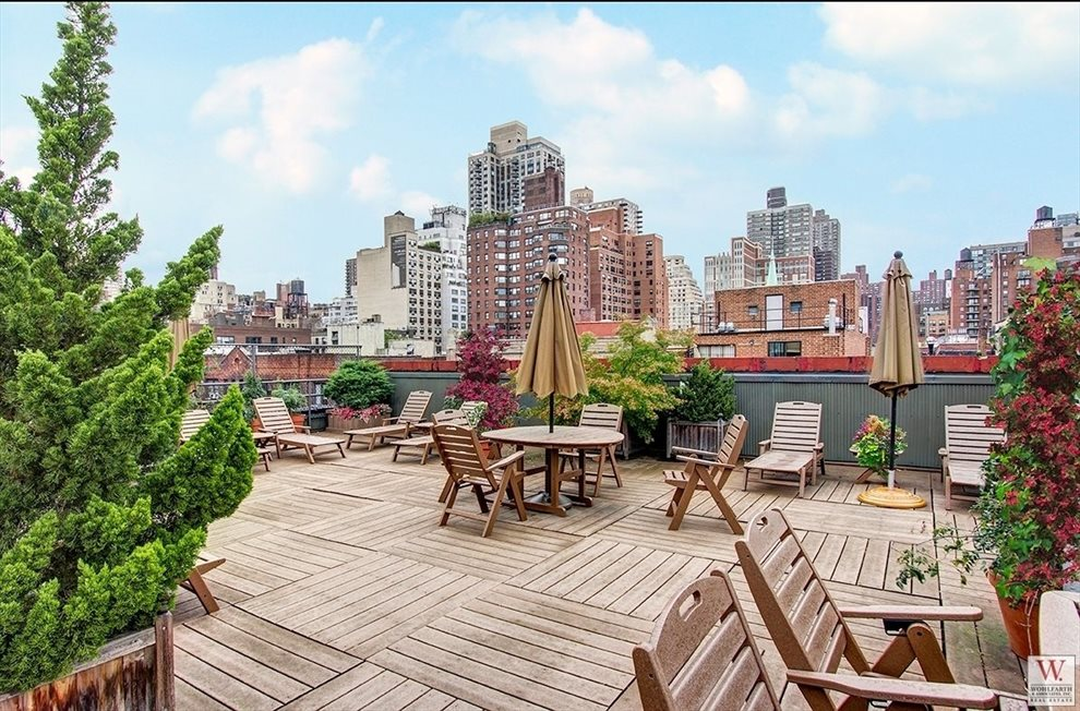 New York City Real Estate | View 222 East 82nd Street, #4E | Roofdeck