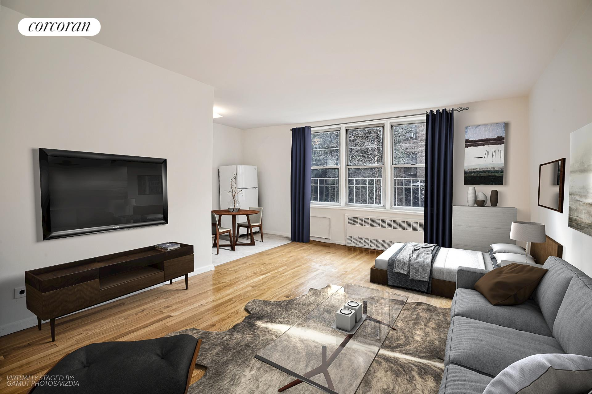 130 Hicks Street, 2F, Living Room