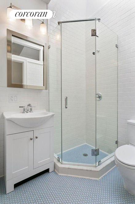 One of the Full bathrooms w/ gorgeous skylight