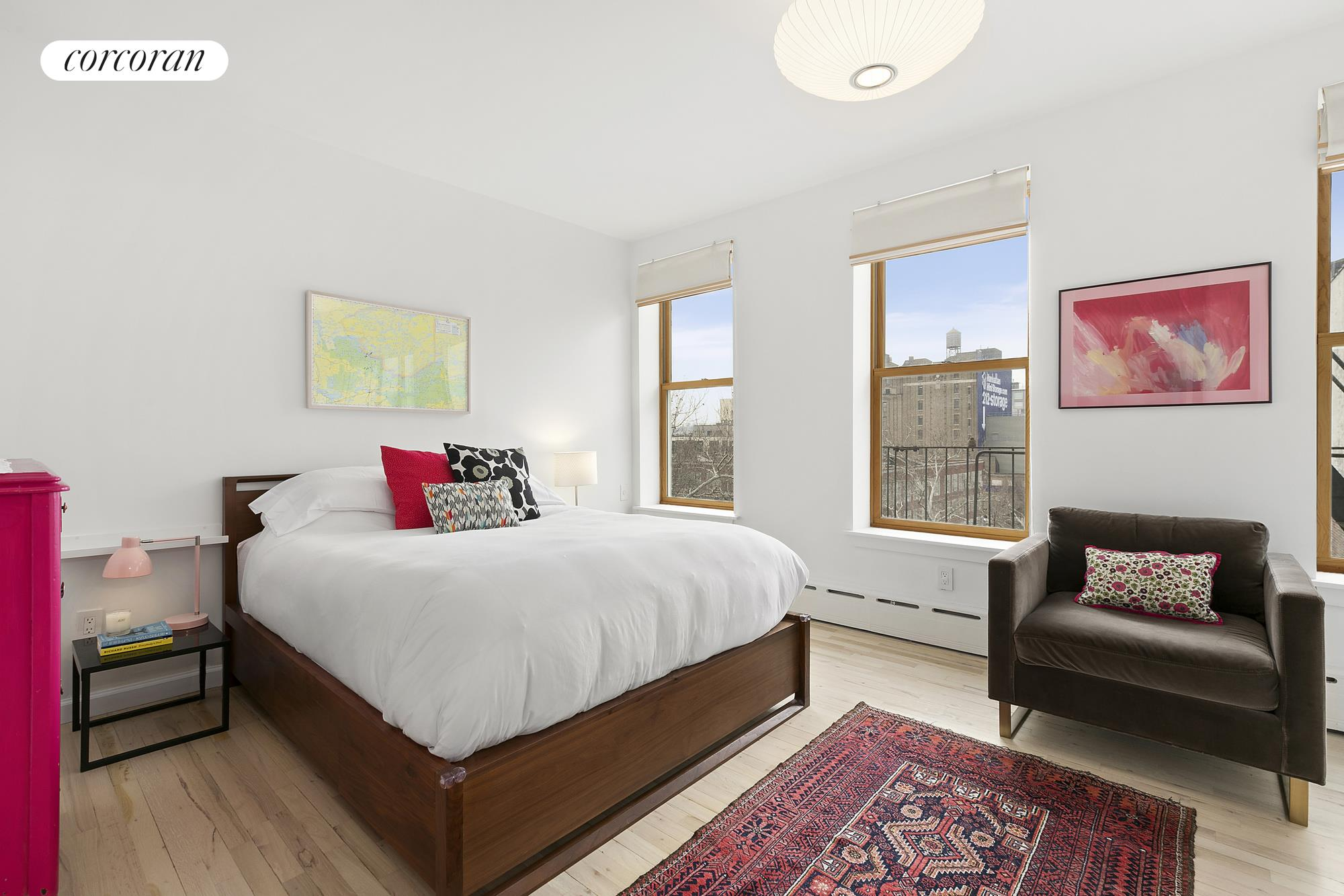 124 West 109th Street, 4-5B, Open floor plan kitchen, dining and living rooms