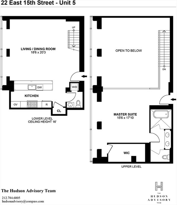 New York City Real Estate | View Union Square West | Floorplan