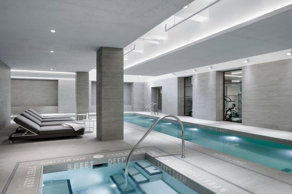 New York City Real Estate | View 90 Lexington Avenue, #10C | Pool with Jacuzzi
