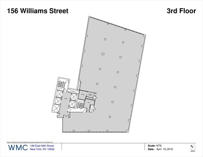 New York City Real Estate | View 156 WILLIAM ST, #300 | Floorplan 1