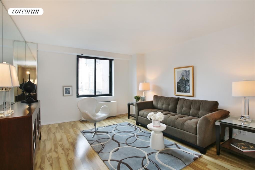 300 East 62nd Street, 605, Living Room