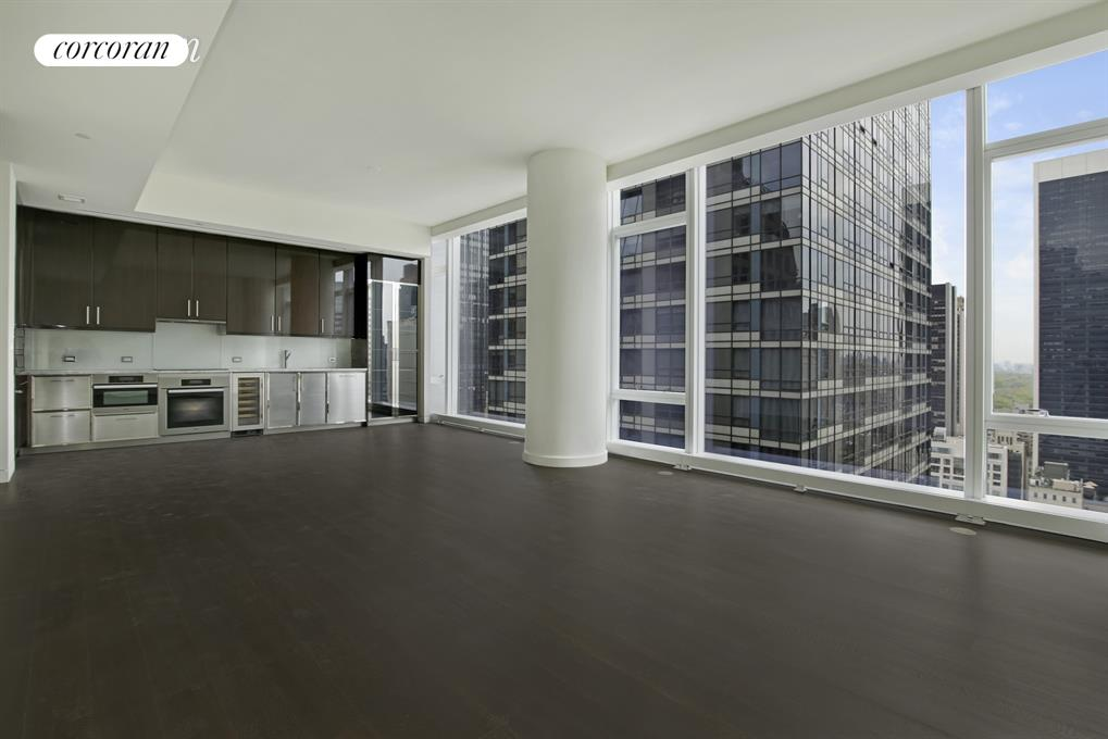 20 West 53rd Street, 29B, View Uptown from the L/R with a peak of the park