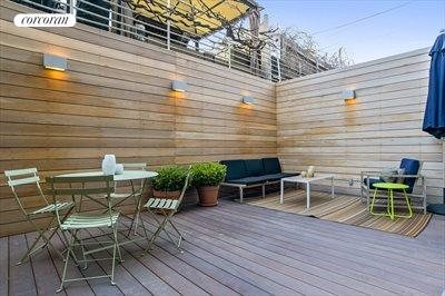 New York City Real Estate | View 61 Conselyea Street, #B1 | Outdoor Terrace