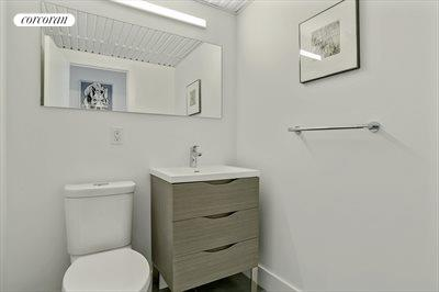 New York City Real Estate | View 61 Conselyea Street, #B1 | Powder Room