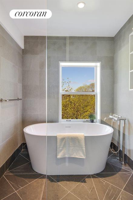 Master Bathroom with a view