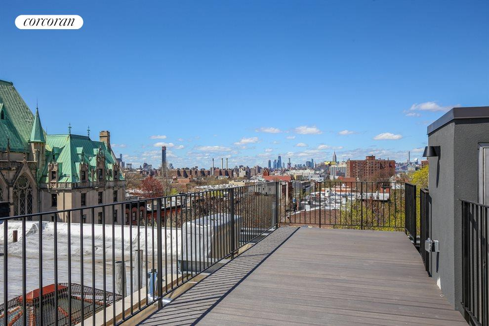 Roof Deck with panoramoc city views