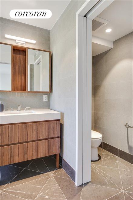 Private toilet room