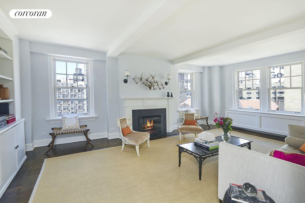 New York City Real Estate | View 60 Gramercy Park North, #16B | Living room