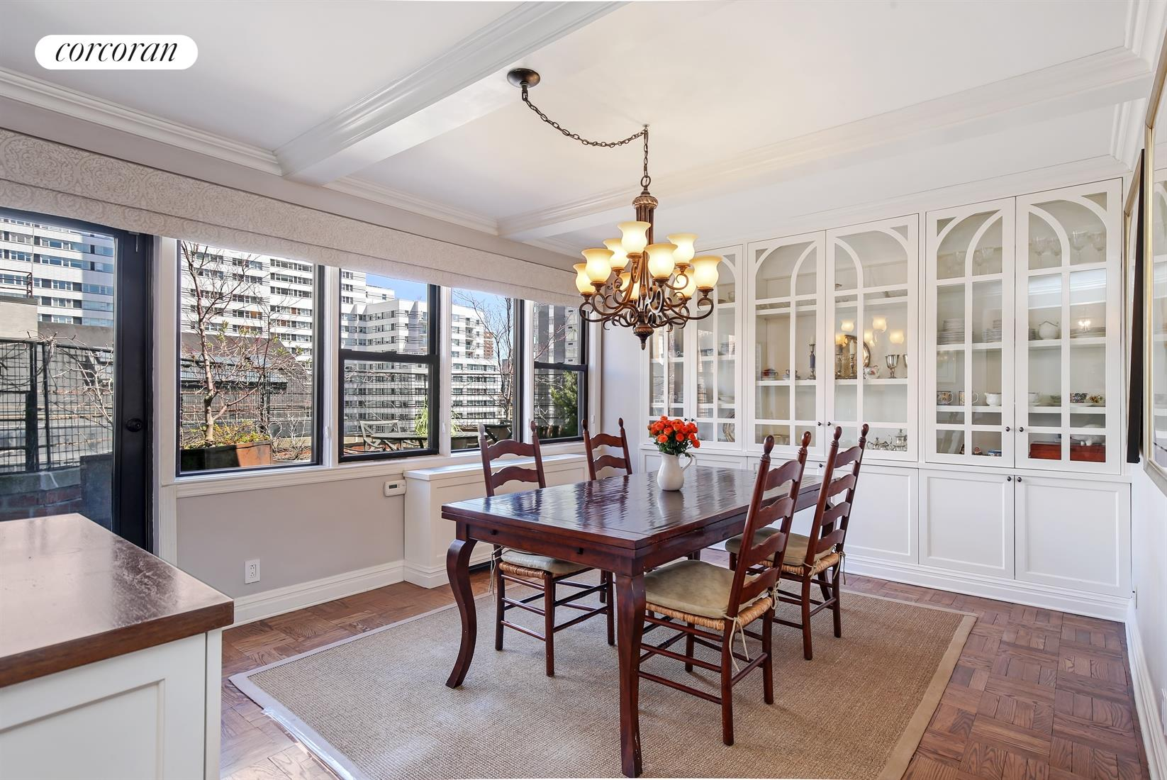 220 East 67th Street, PHCD, Terrace - Accessed from the Dining Room