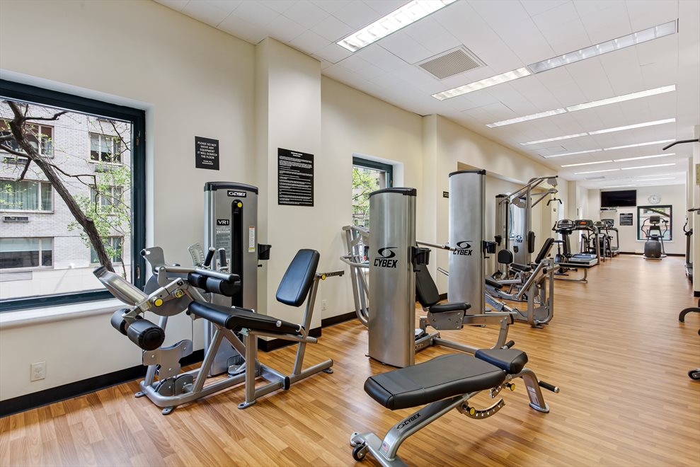 New York City Real Estate | View 188 East 70th Street, #8B | Sunny Gym