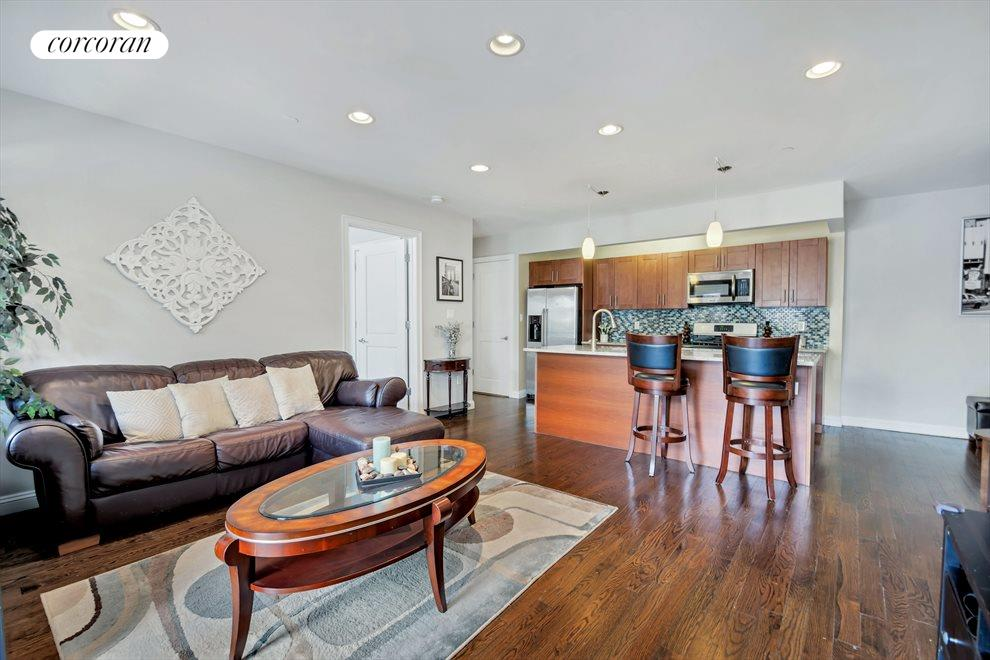 Bright and spacious living