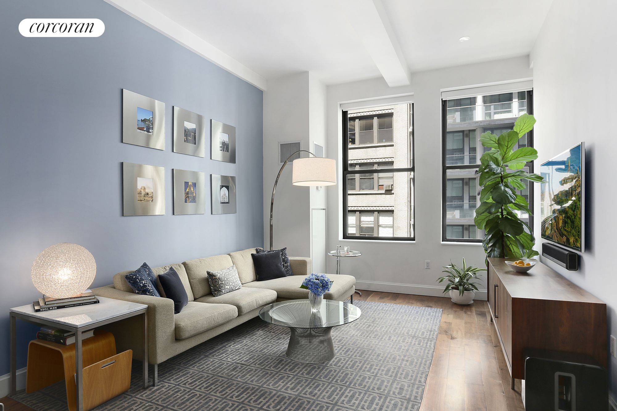 140 West 22nd Street, 4A, Living Room