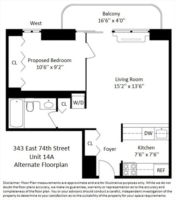 New York City Real Estate | View East 74th Street | Floorplan 1