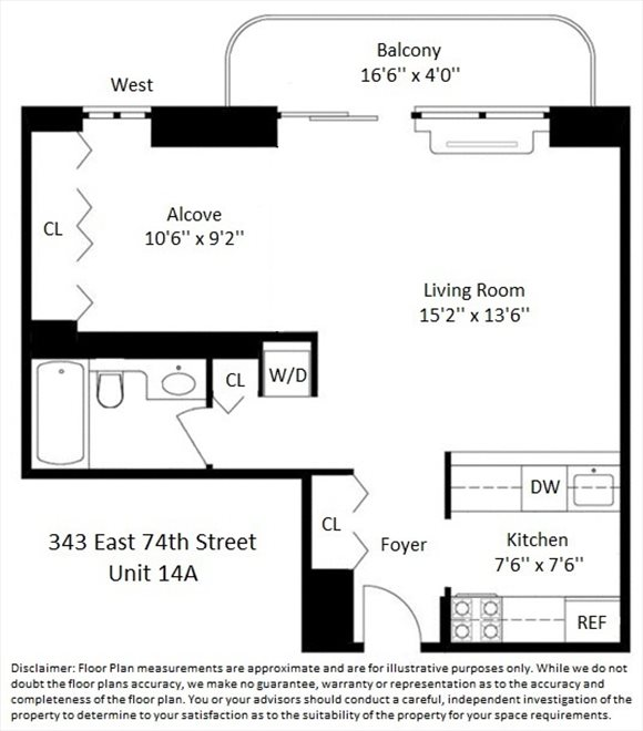 New York City Real Estate | View East 74th Street | Floorplan 2