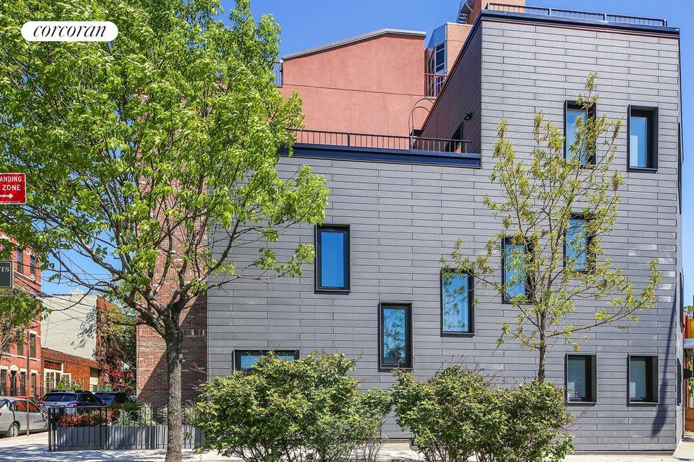 Modern fiber cement siding and Klearwall windows