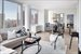 389 East 89th Street, 23C, Living room w/ Northeast views