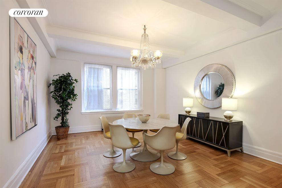"""Spectacular dining room with  9'-6"""" ceiling"""
