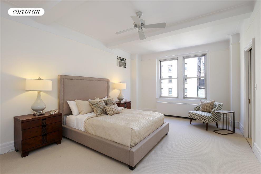 Master Bedroom with huge closets & en-suite bath