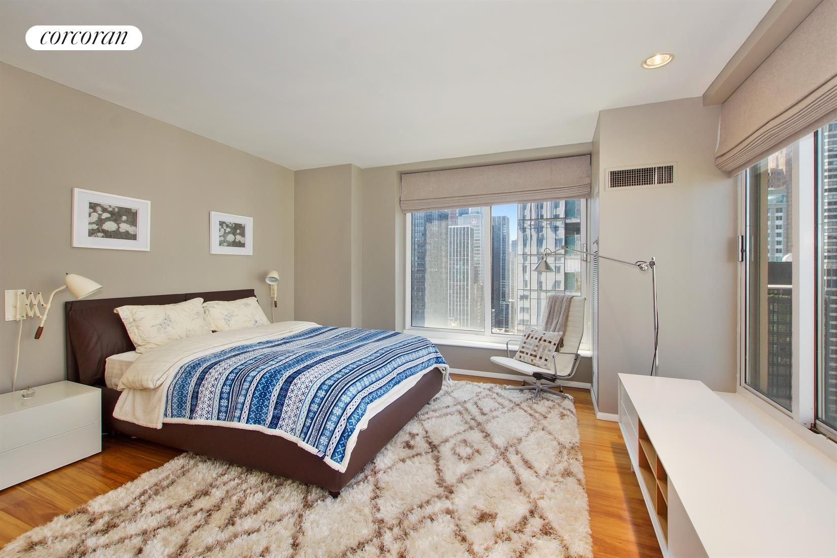 106 Central Park South, 32B, Bedroom
