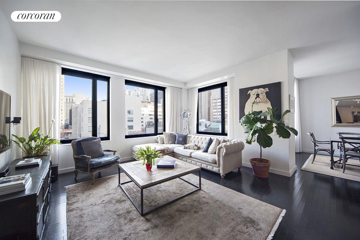 85 West Broadway, 10S, Living Room