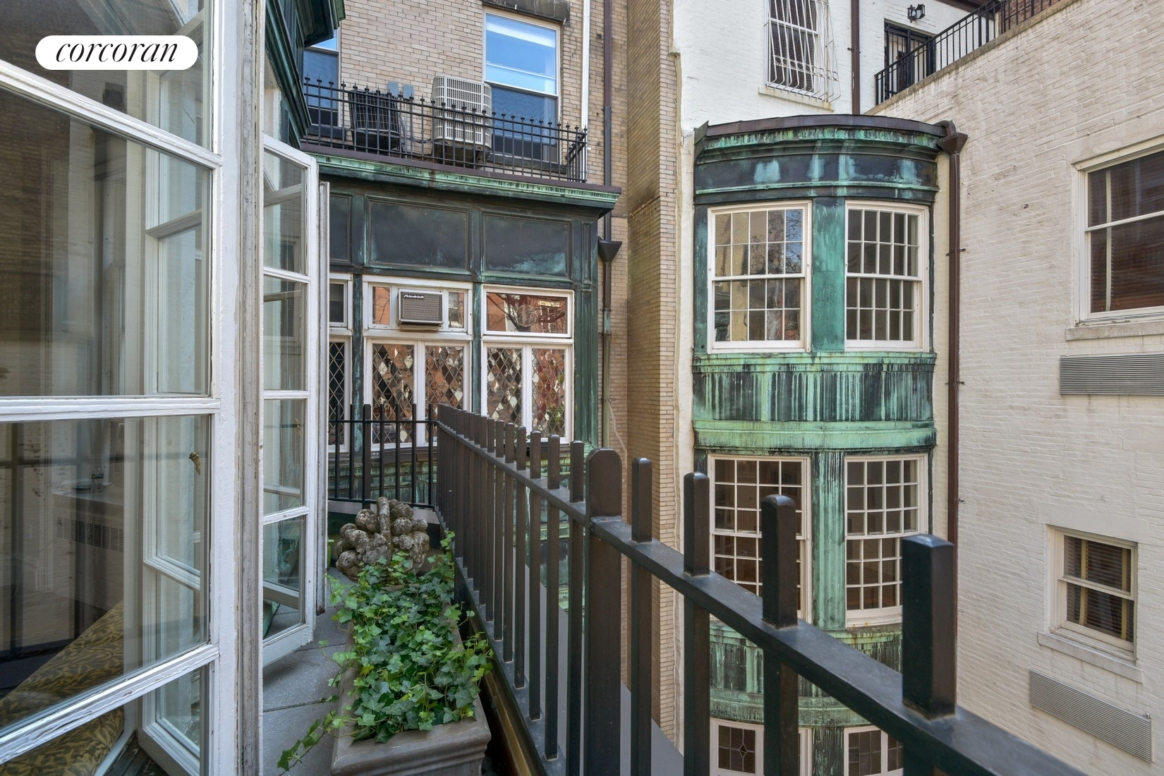17 East 80th Street, 6,  French Doors Lead to Planting Terrace