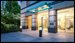 377 Rector Place, 6M, Lobby entrance renderings