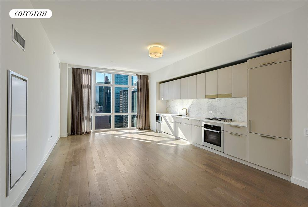 Large Open Kitchen/Living Room Concept