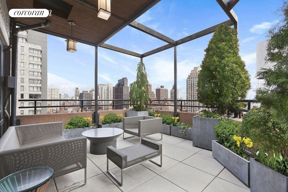 Beautiful private rooftop terrace