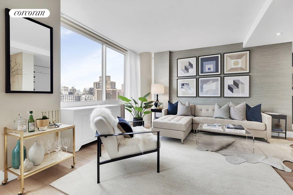 New York City Real Estate | View 389 East 89th Street, #29A | Southern exposure w/ Empire State bldg views