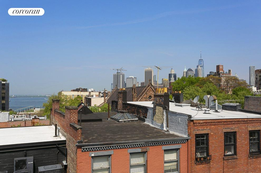 View from the private roof