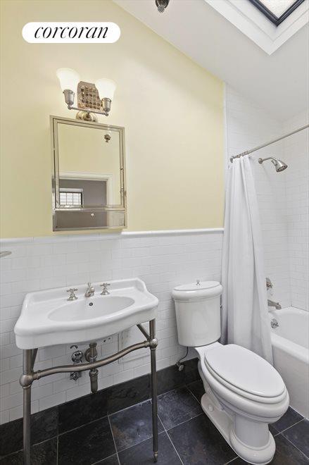 2nd Bathroom with skylight