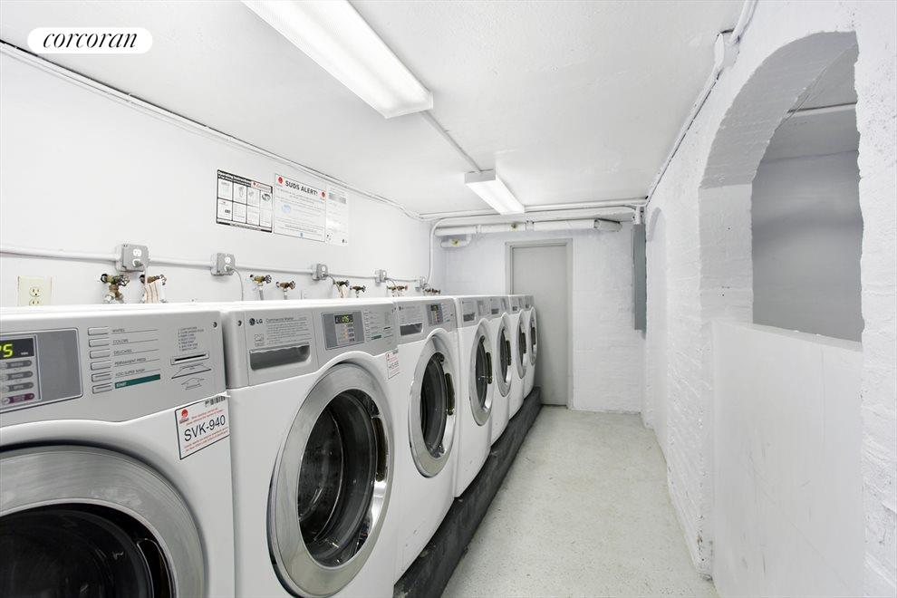 Modern laundry for all residents