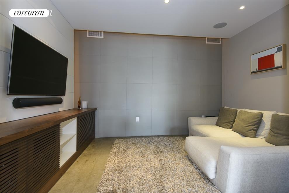 cozy media room