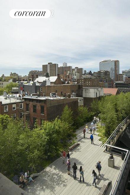 views south over Highline