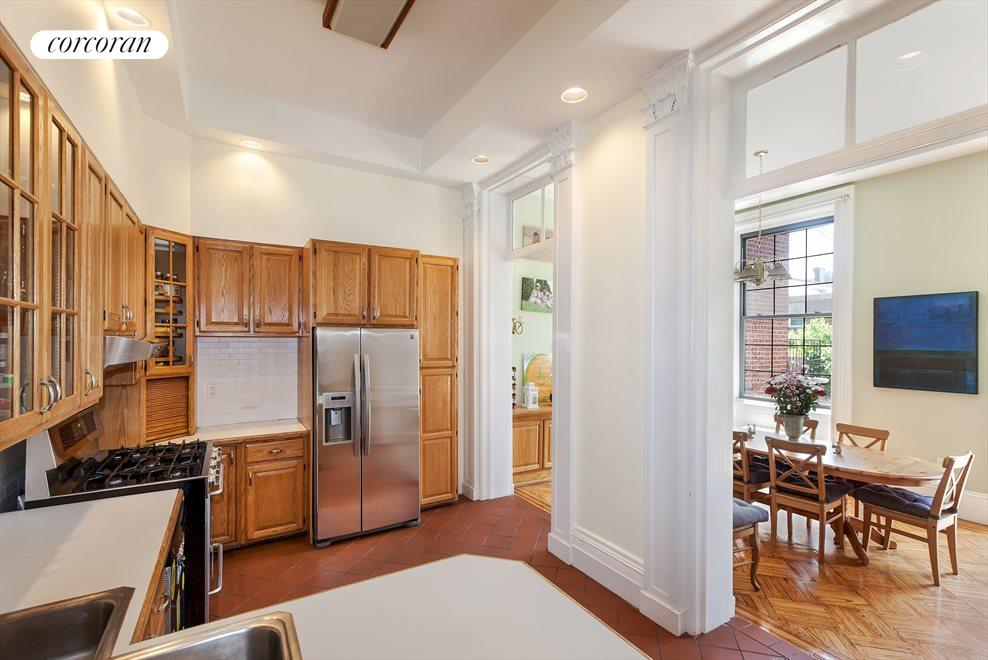 large renovated open kitchen