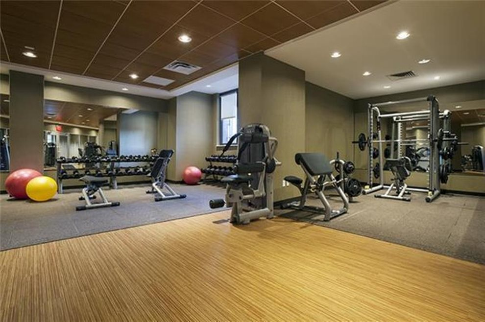 New York City Real Estate | View 330 East 38th Street, #43D | Large Full Gym