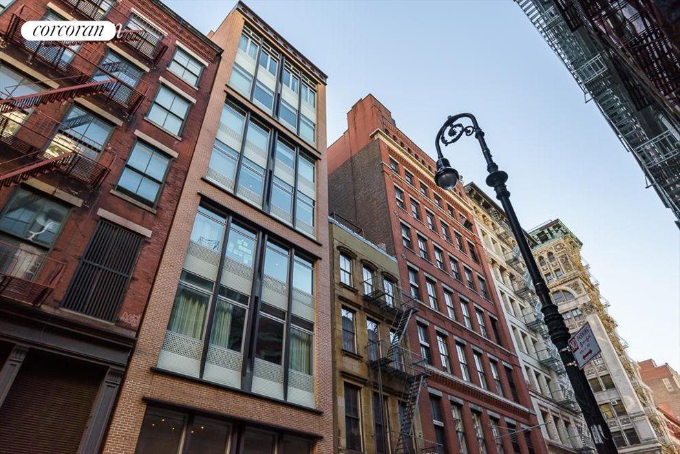 72 Mercer Street facade