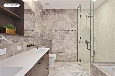 New York City Real Estate | View 325 Henry Street, #3B | Master Bathroom