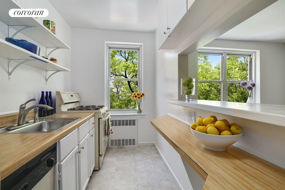 New York City Real Estate | View 220 Congress Street, #6F | Galley kitchen