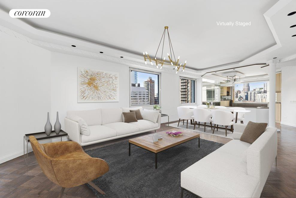 New York City Real Estate | View 303 East 57th Street, #17CD | 2 Beds, 2.5 Baths
