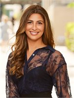 Gabriella Abdelnour, a top real estate agent in New York City for Corcoran, a real estate company in East Side.